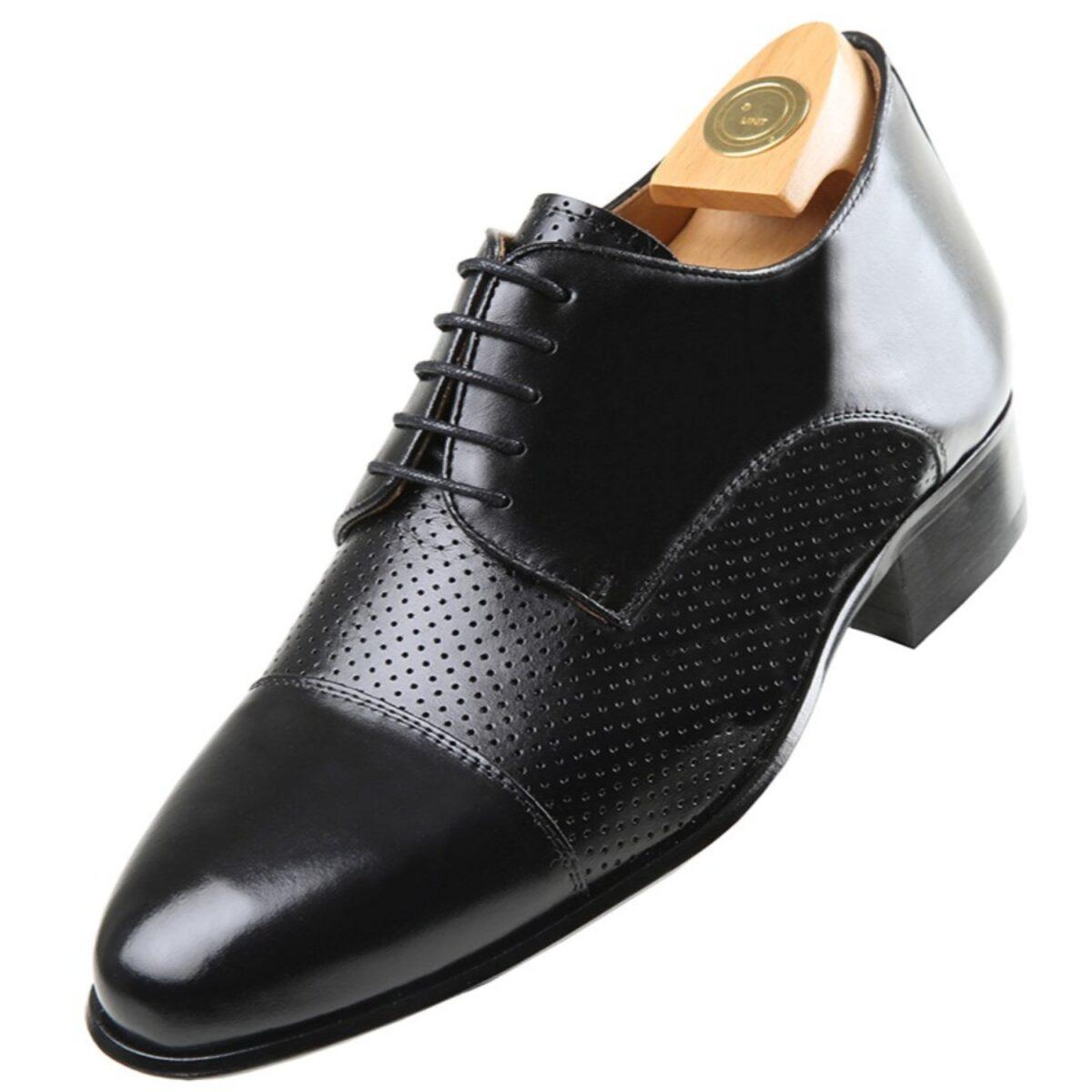 Zapatos con Alzas modelo 3010 NP - HiPlus