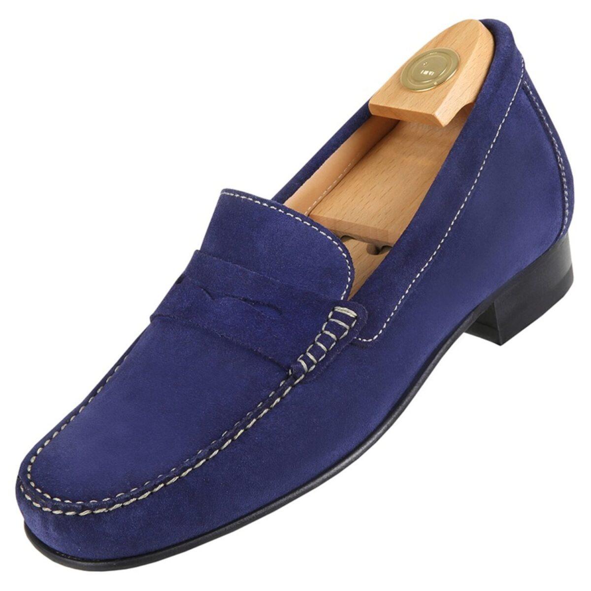 Zapatos con Alzas modelo 5010 Az - HiPlus