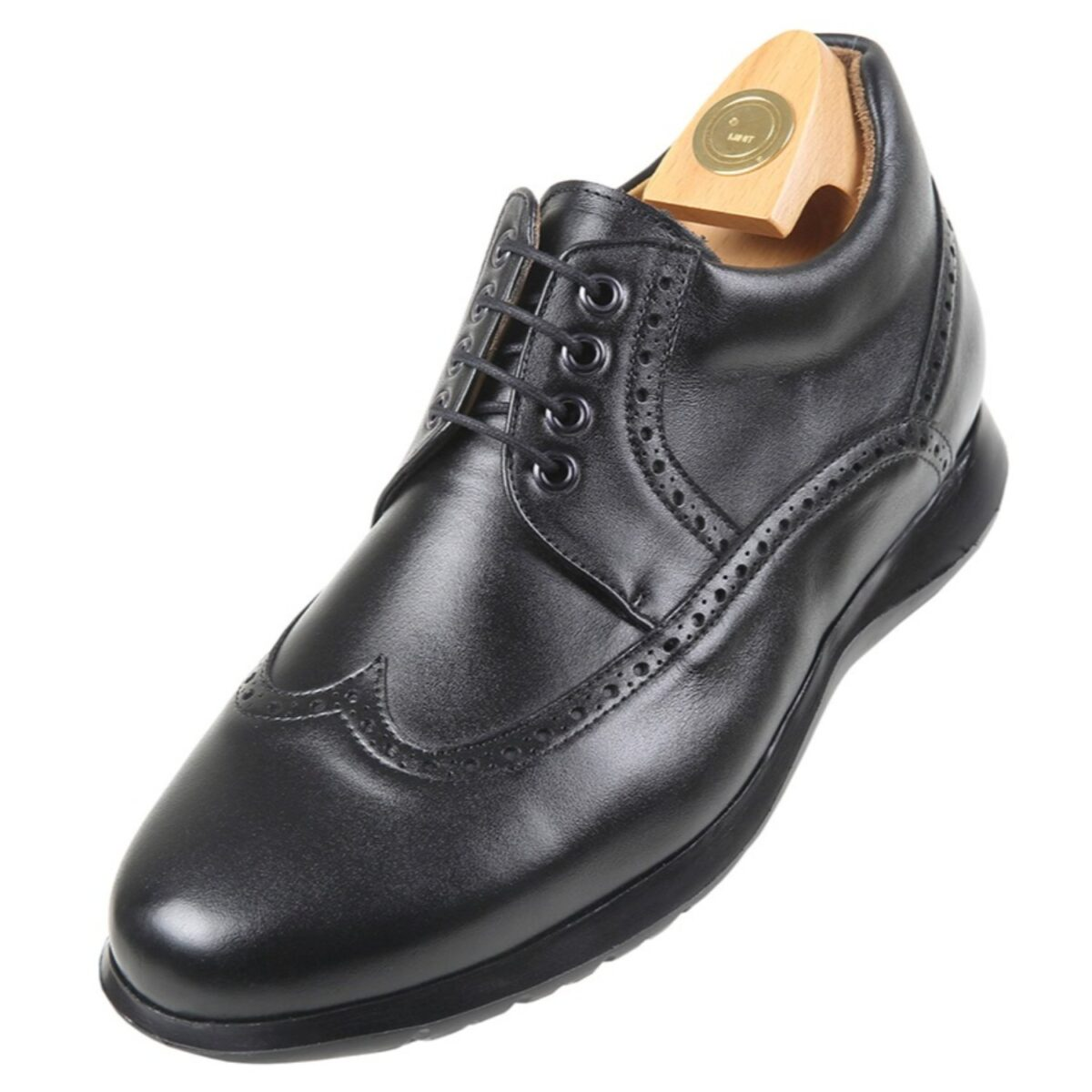 Zapatos con Alzas modelo 6027 Nc - HiPlus