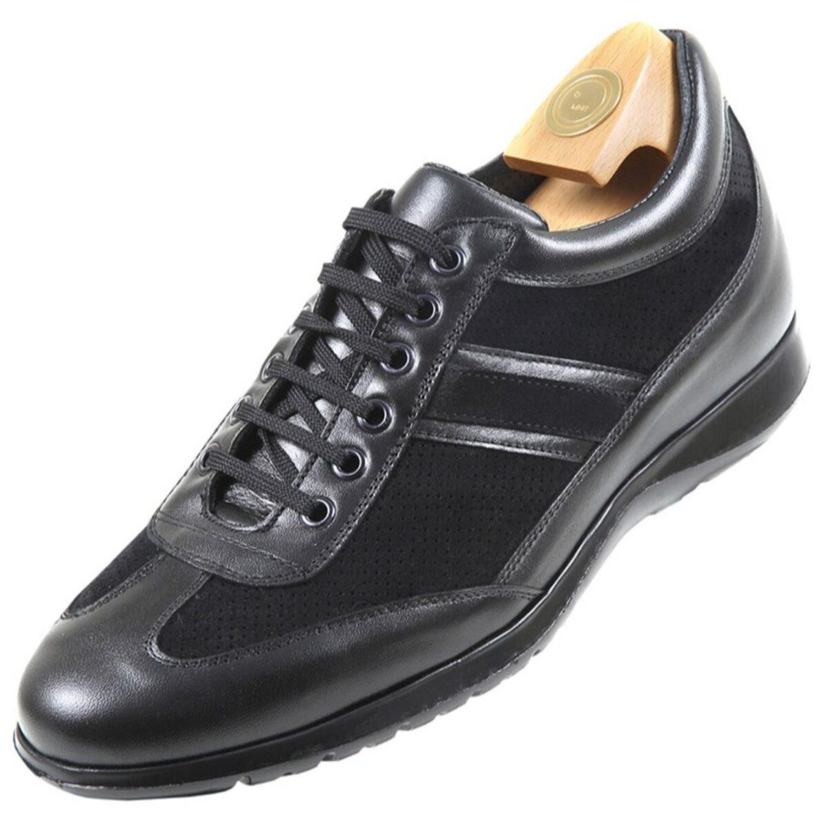 Zapatos con Alzas modelo 7031 NG - HiPlus