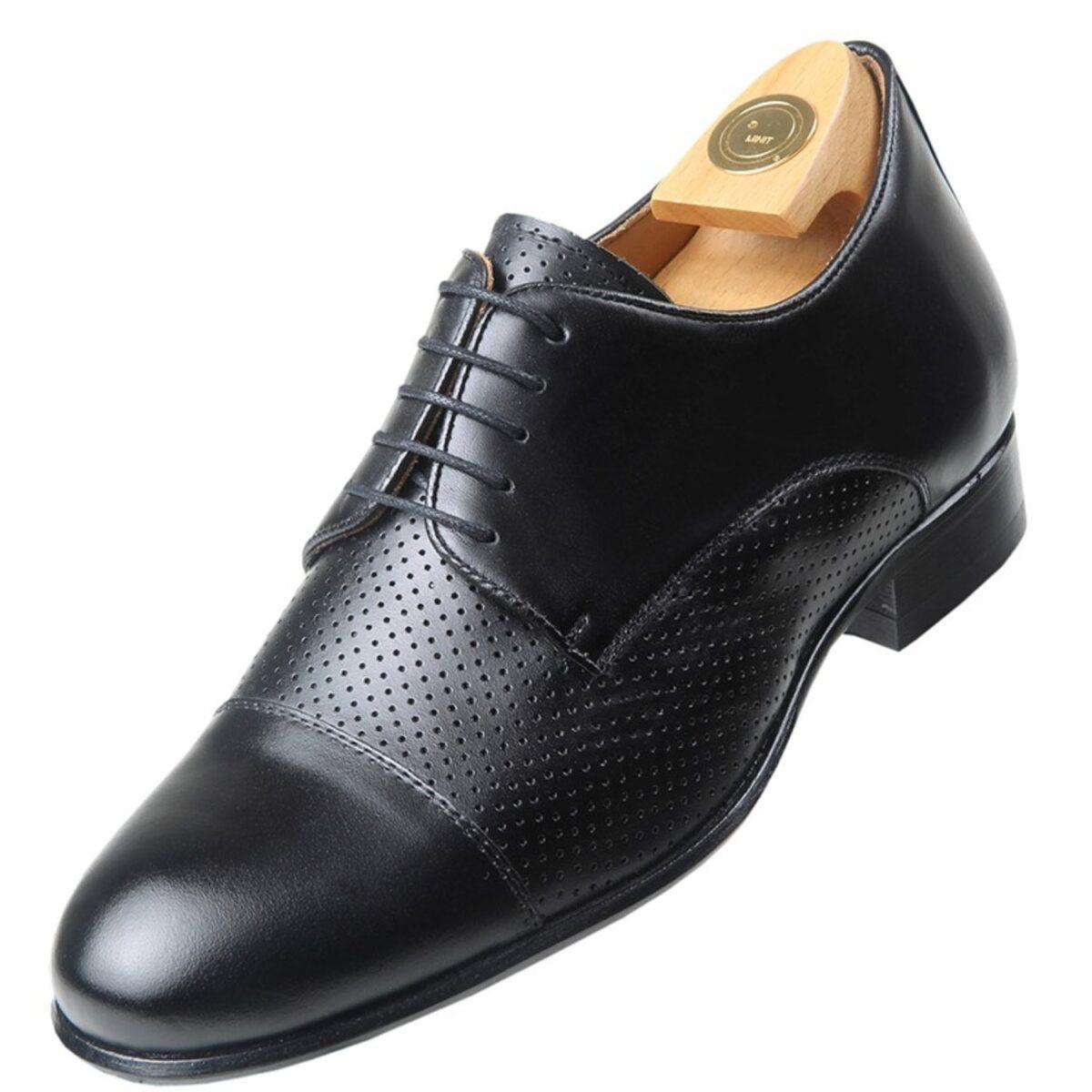 Zapatos con Alzas modelo 7510 NP - HiPlus