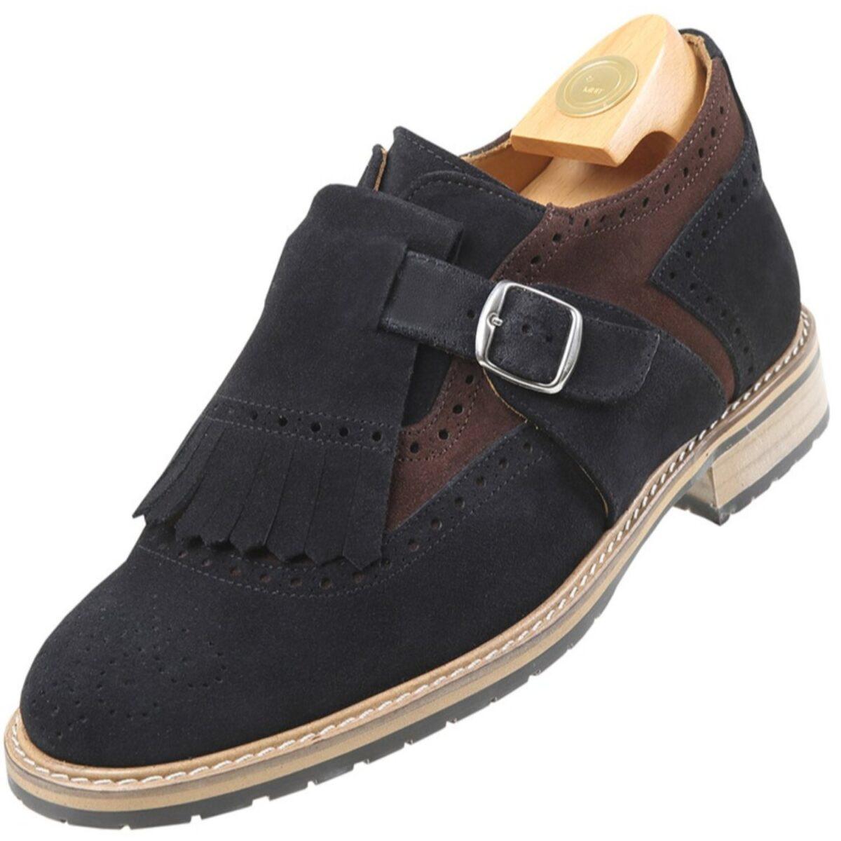 Zapatos con Alzas modelo 7516 Ns - HiPlus