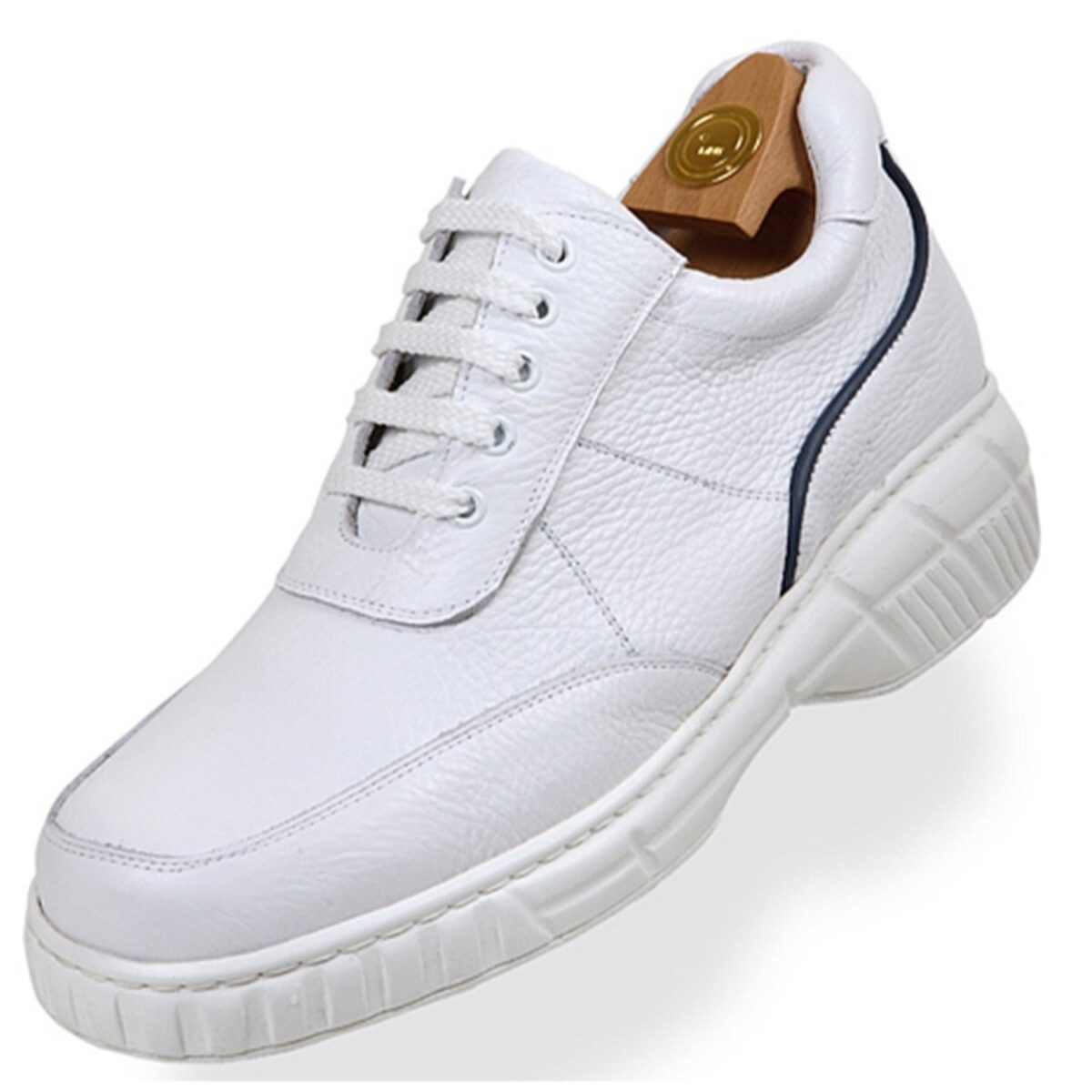 Zapatos con Alzas modelo 8032 BL - HiPlus