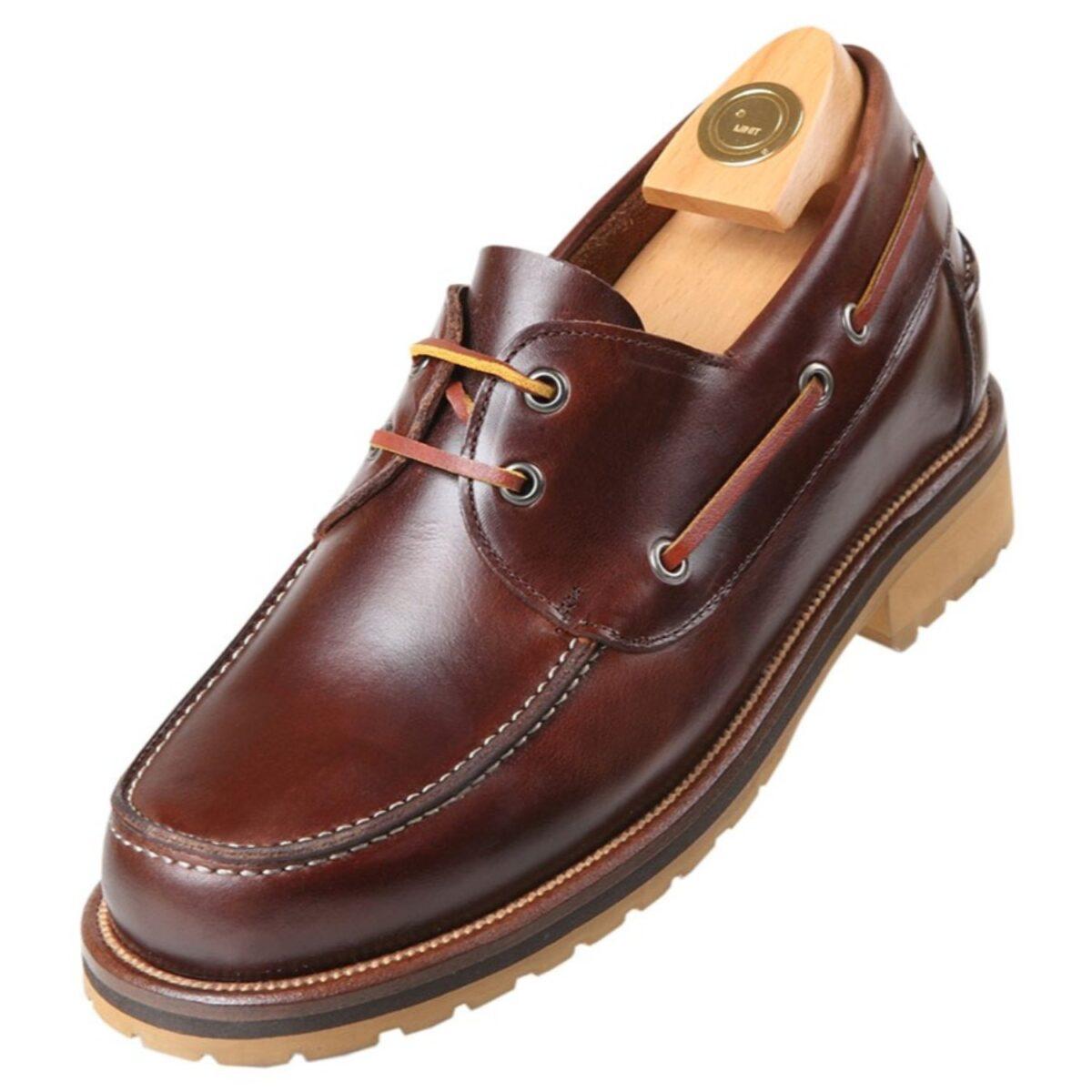 Zapatos con Alzas modelo 9010 M - HiPlus