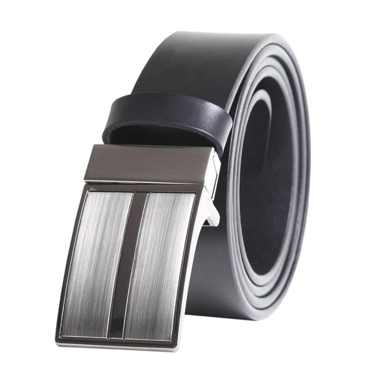 Zapatos con Alzas modelo CINTURÓN negro - HiPlus
